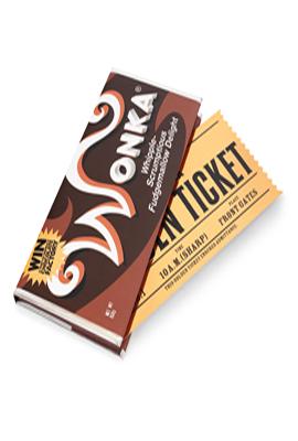 Willy Wonka Çikolata Defter - Mösya Taha X Mabbels